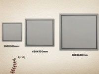 Hot sales!! Aluminum ultra-thin flat panel led lighting 32w 36w 48w