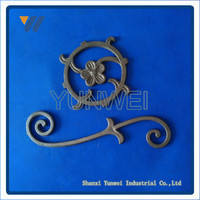 Hot Sales Custom-Made Delicate Style Cast Iron Simple Gate Design