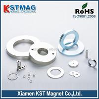 """1/4"""" x 1/8"""" x 1/4"""" ring neodymium Magnet for speaker"""