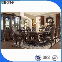 dining room glass table ellipse wood carved dining room tables