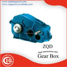 ZIBO GVORVI ZQ(H)250-31.5- I ~IX-N/S input speed 750 rpm ,middle service , high efficiency bevel gear box
