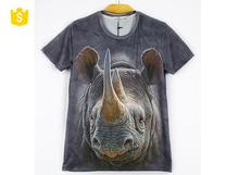 2015 factory price wholesale 3d printing t-shirt, 3d printing t shirt