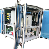 ZJA Insulating Oil Processing System , Oil Vacuum Purification Plant