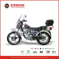 White 125cc 150cc motorcycle