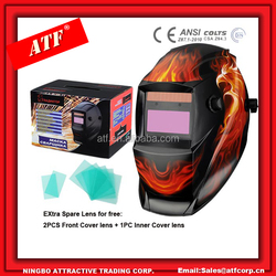 Solar Cell paintball mask For Tig Weld
