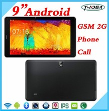 """Hot selling 9"""" Tablet Pc Android 4.4 Built-in 2G Support Calling,Phone Tablet With Sim Card"""