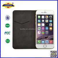 2015 New Design 360 degree rotating Universal leather wallet case for any phone