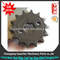 good performance best motorcycle chain,professional custom steel wheel sprocket ,forging new sprocket and gear