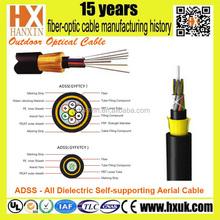 Fujikura non-metallic 96 core optic fiber cables ADSS