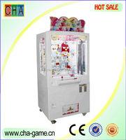 high quality key point push win arcade gift machine