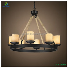 New big size candle chandelier ceiling pendant light
