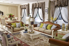 Competitive price American simple modern living room sofa sets