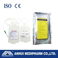 Wholesale Surgical Blow Extruded Double Blood Collection Bag