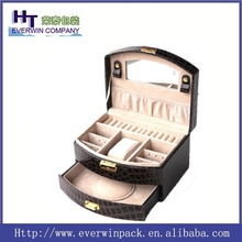 High quality hot sale and Luxury jewelry box for ring, marble inlay jewelry box, jewelry set box model