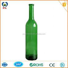 Dark green 750ml champagne glasses