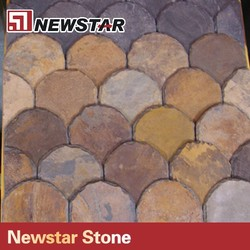 Newstar Hot Sale Good Quality Natural Red Roof Slate Tiles