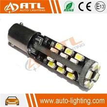 Newest High bright led chip 30SMD, 12V 1.8-2.0W ba9s led car bulb