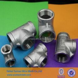 NPT/BSP/DIN2999 threaded stainless steel pipe fittings