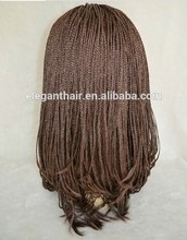 Ali wholesale website kinky braids synthetic hair machine weft made wig for black women