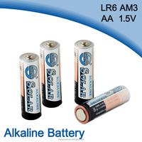 LR6 dry cell Am3 battery solar aa