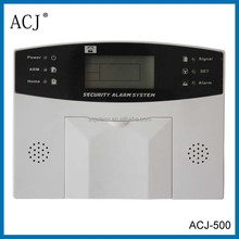 LCD display wireless home security burglar automation alarm system