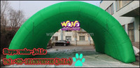 HOT!!!Designer Crazy Selling inflatable tunnel tent for Event/party 10m seep*8m width *4m tall