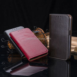 High Quality Wallet Card Holder Leather Case For Galaxy S6 edge