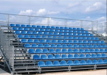 New design Outdoor Metal Grandstand with Pour Mold seats for sports event