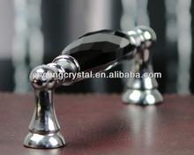 Vidro de cristal preto liga de zinco lidar com 128 mm / 96 mm China factory