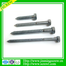 Hot sale Best quality Top quality Wood Screws DIN 571 hex wood screws