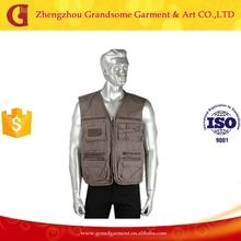 Hot Sale Men's Sleeveless Multi Pocket Fly Fishing Vest
