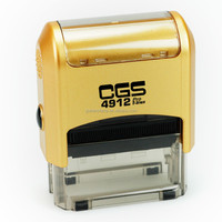 CGS 4912 Self inking stamp/received stamp/Self inking Personalized Stamp