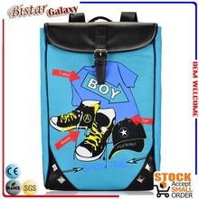 Modern designe beautiful mochila escolares school bag, fashion brand good quality laptop backpack BBP503L