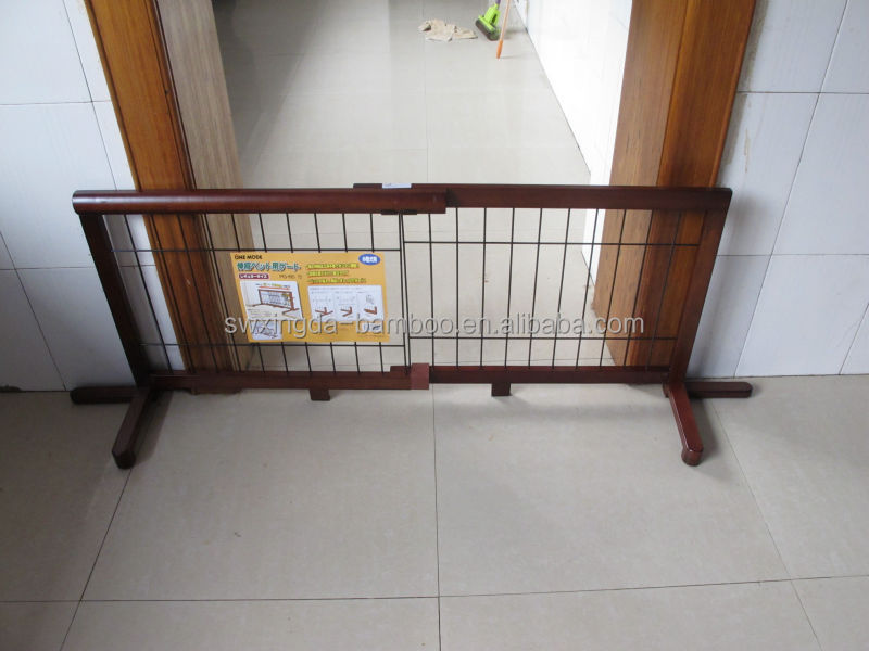 2014 New design natural bamboo folding pet fence