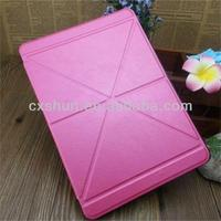 Pink Smart Transformer Case for Apple iPad Air 5th PU Leather Cover Cases
