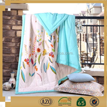 King size handmade 100% polyester adult quilts