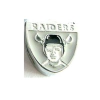 8mm Alloy Raiders Football Sports Slide Charms Fit To Pet Collars Wristbands And Keychains