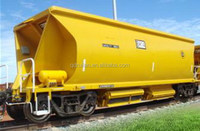 railway 1435mm gauge wagon for all kinds of transportion