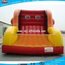 2015 basketball shooting games inflatables,factory price inflatable sport games for adults