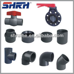 pvc fitting pvc pipe fitting for water supply grey/white