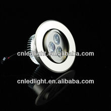 Die-casting round led ceiling lamps 3w for hotel ,home ,hospital ,office