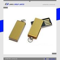 customized prmotional gift twister 2gb usb flash drive mini usb key