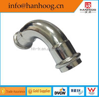 Sanitary stainless steel pipe fittings elbow food grade(CE ISO certificate)
