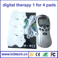 Top selling Digital Therapy Machine personal body slimming Massager electric pulse Body massager health care equipment