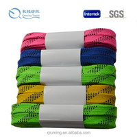 Durable yarn waterproof material field hockey shoelaces