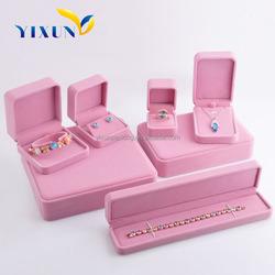 Wholesale Fancy Design Custom Velvet Wedding Ring Box
