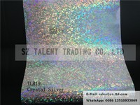 hologram heat transfer film for T shirt Crystal