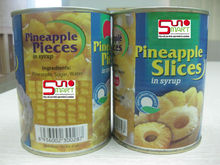 Pineapple Pieces Canned Food