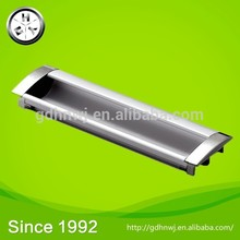 With 3000 square meters of building area factory price hidden cabinet handle zinc-alloy decorative wardrobe drawer handle