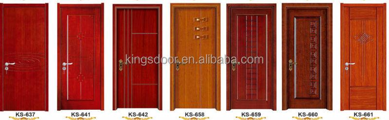 derniers modles de porte en bois avec de la peinture pour chambre - Modele Porte Chambre
